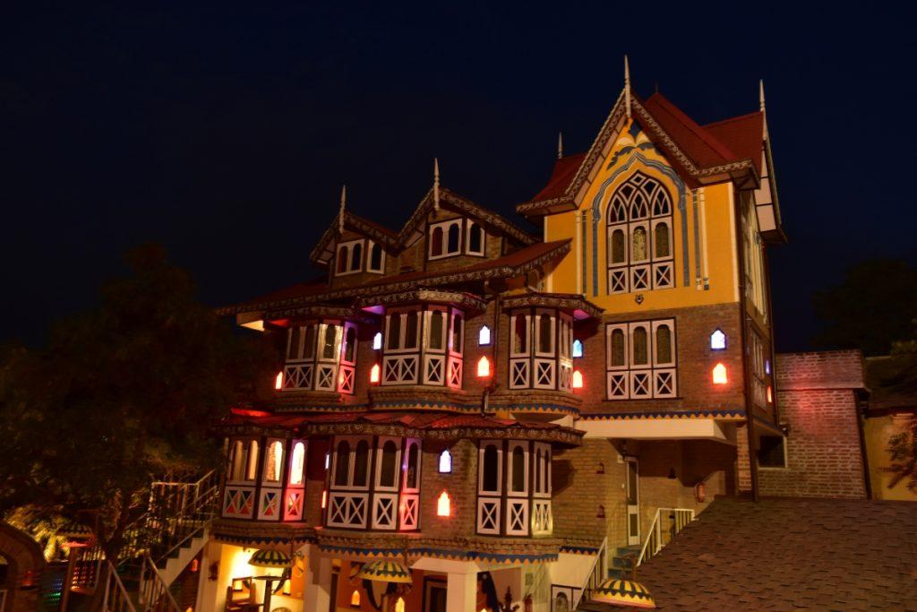 The chateau garli