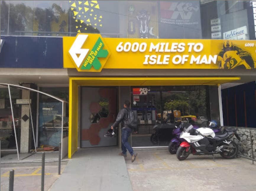 biker cafes in india