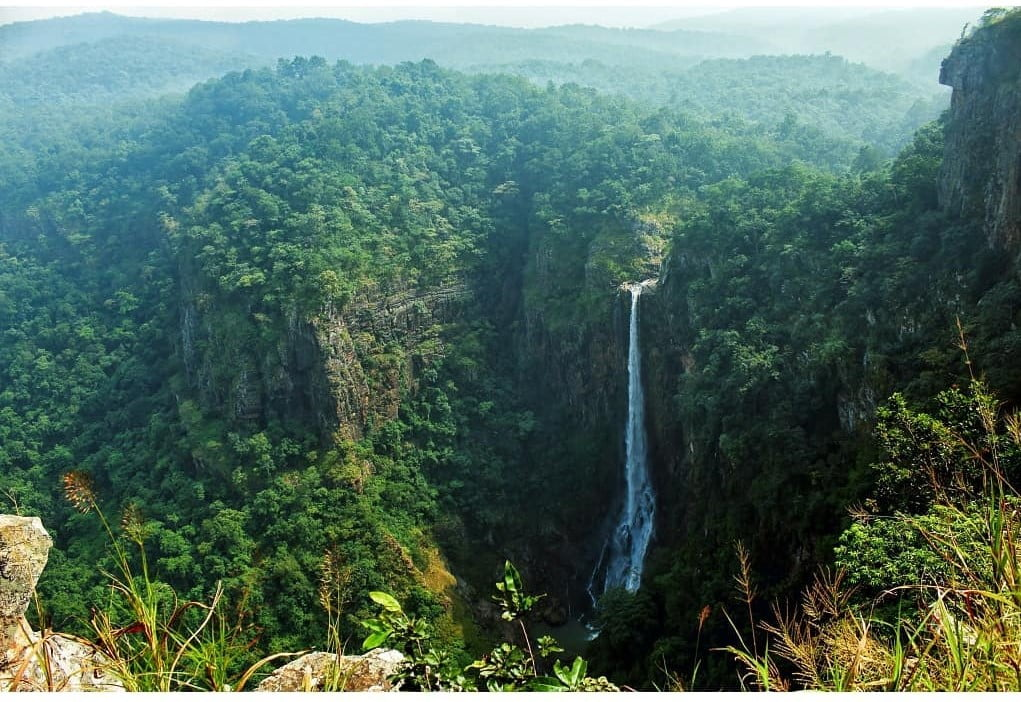 Joranda waterfalls