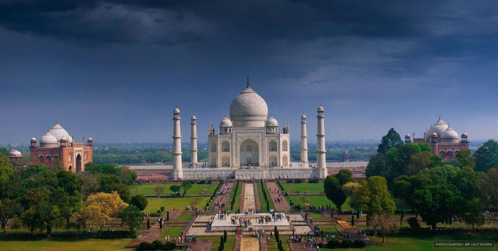 Mehtab Bagh Taj Mahal