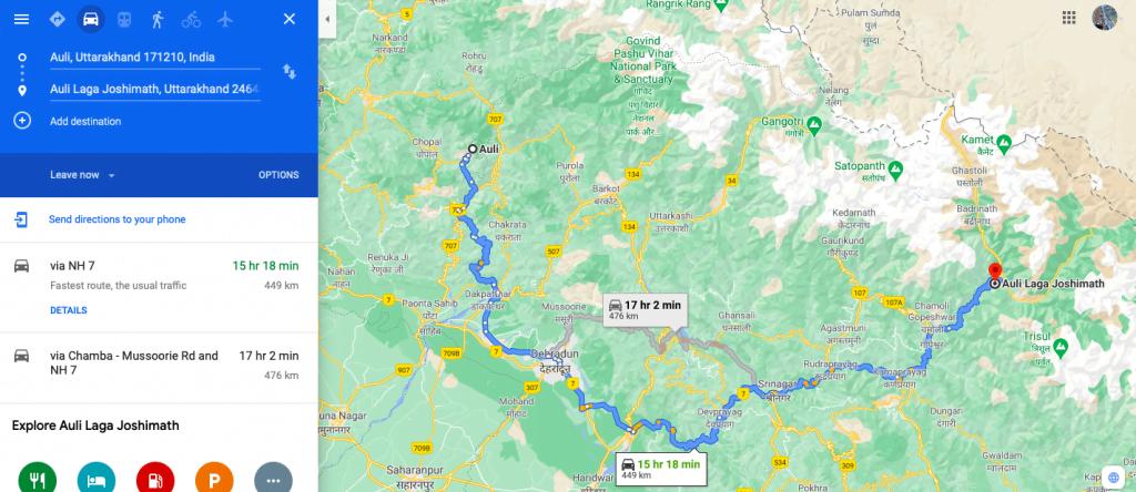 Auli travel guide